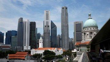 Singapur 2. çeyrekte yüzde 41.2 küçülerek resesyona girdi