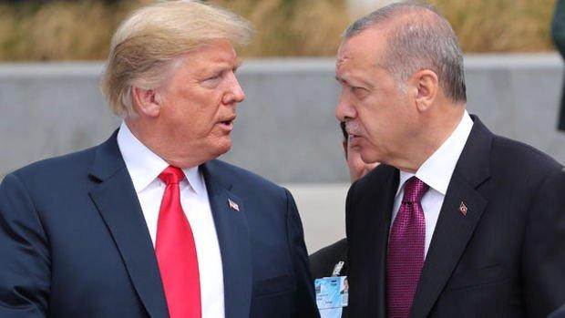 Erdoğan ve Trump telefonda görüştü