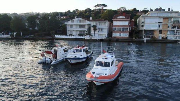 İstanbul Boğazında kaçak midye operasyonu