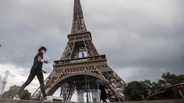 Fransa ekonomisi 2. çeyrekte rekor daraldı