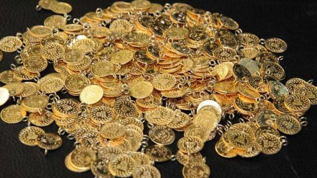 Gram altın 443 lira ile yeni rekorunu gördükten sonra haf...
