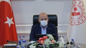 Bakan Soylu: Yarın en yoğun Kovid-19 denetimini gerçekleş...