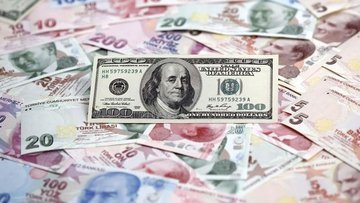 Dolar/TL yüzde 3.4 yükselişle rekor seviyeye ulaştı