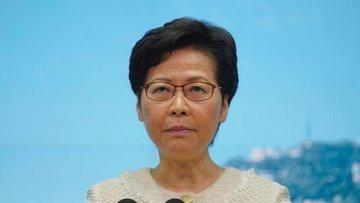 ABD, Hong Kong baş yöneticisi Carrie Lam'e yaptırım uygul...