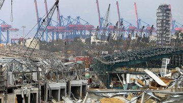 Beyrut Limanı'ndaki patlamada bilanço ağırlaşıyor: 154 öl...