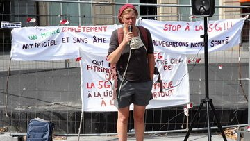 Belçika'da 5G teknolojisi yatırımları protesto edildi