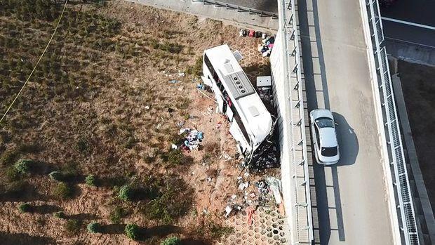 Kuzey Marmara Otoyolu'nda otobüs kazası gerçekleşti