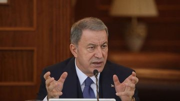 Milli Savunma Bakanı Akar Doğu Akdeniz'deki gelişmeler ha...