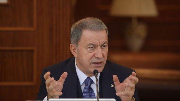 Milli Savunma Bakanı Akar Doğu Akdeniz'deki gelişmeler hakkında toplantı yaptı