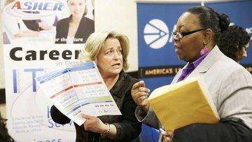 ABD'de işsizlik maaşı başvuruları pandemiden beri ilk kez...