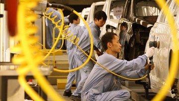 Çin'de sanayi üretimi Temmuz'da artsa da beklentileri karşılamadı