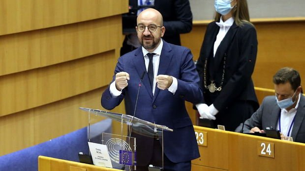 AB liderler zirvesinden Belarus'lu yöneticilere yaptırım kararı çıktı