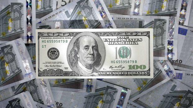 Euro/dolar dipten alımlarla yükseldi