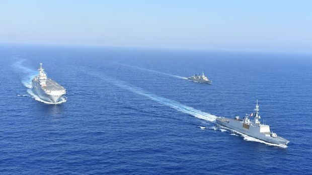 4 ülkeden Doğu Akdeniz'de ortak tatbikat kararı