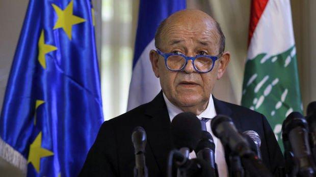Fransa Dışişleri Bakanı Le Drian: Lübnan'ın ortadan kaybolması riskiyle karşı karşıyayız