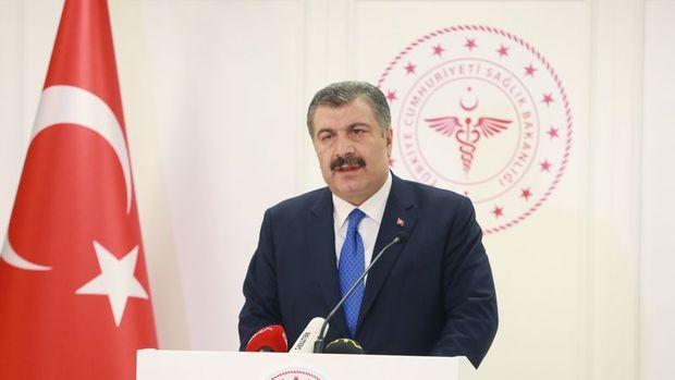 Türkiye'de son 24 saatte 1671 kişiye Kovid-19 tanısı konuldu