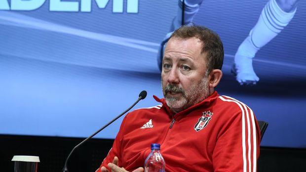 Beşiktaş Teknik Direktörü Sergen Yalçın'ın Kovid-19 testi pozitif çıktı