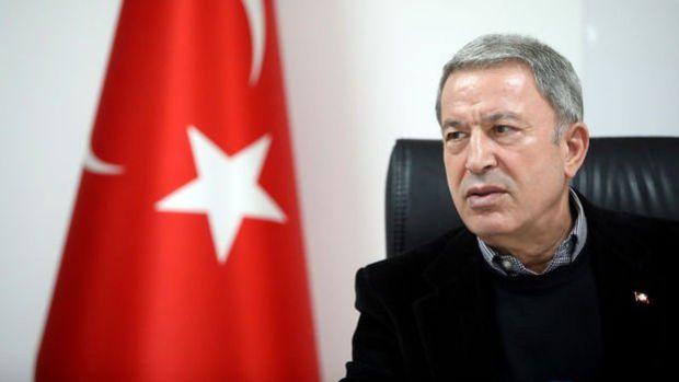 Bakan Akar: Yunanistan gerginliği artırıcı davranışlarını mutlaka bir tarafa bırakmalı