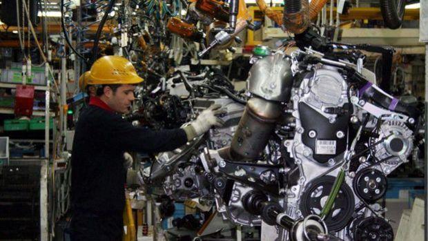Sanayi üretimi Temmuz'da aylık yüzde 8.4 arttı