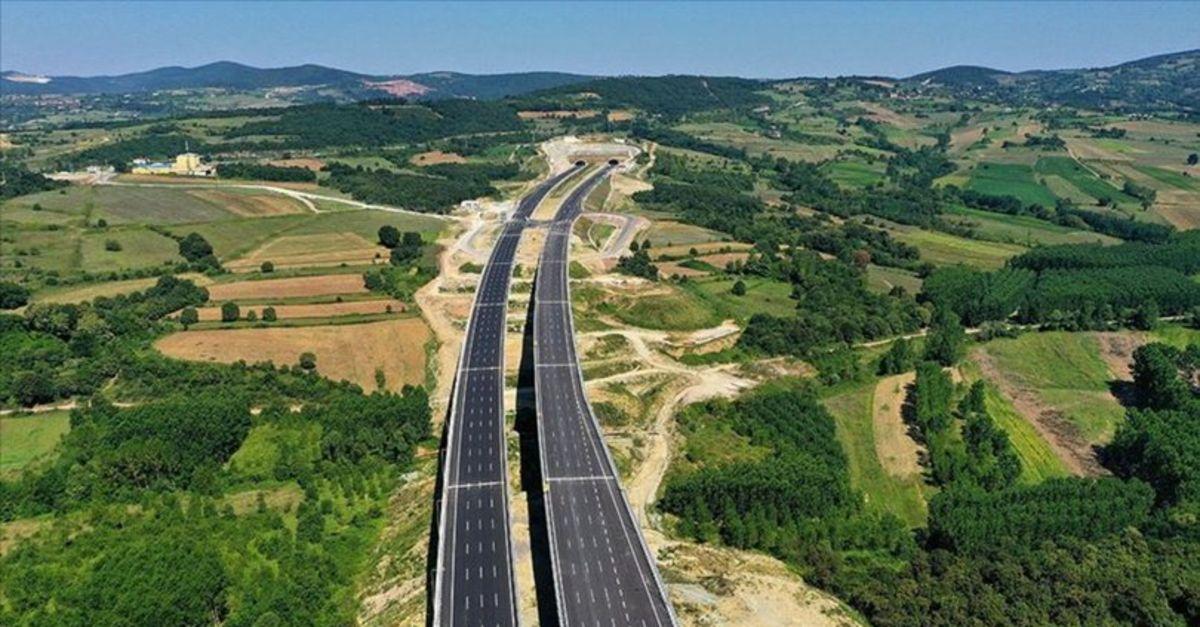 Kuzey Marmara Otoyolu 21 Aralık'ta tamamlanacak