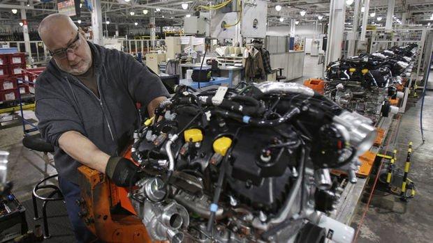ABD sanayi üretimi Ağustos'ta beklenenden az arttı