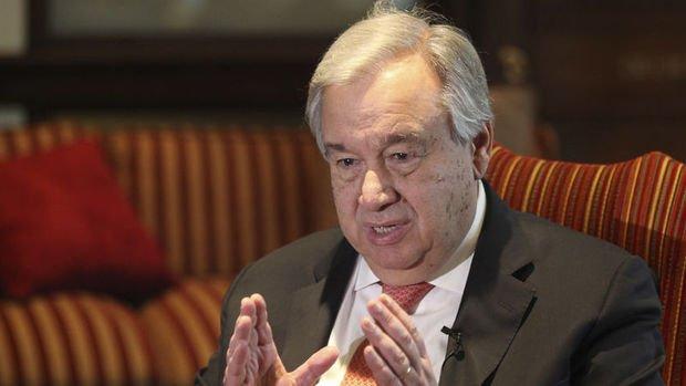Guterres, KKTC'deki seçimlerin ardından siyasi süreci tekrar başlatacak