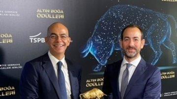 """Ak Portföy'e  """"En Yaratıcı Sermaye Piyasası Projesi 2019""""..."""