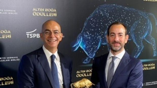 """Ak Portföy'e  """"En Yaratıcı Sermaye Piyasası Projesi 2019"""" Ödülü"""