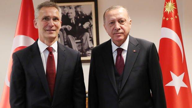 Erdoğan, NATO Genel Sekreteri Stoltenberg ile telefonda görüştü