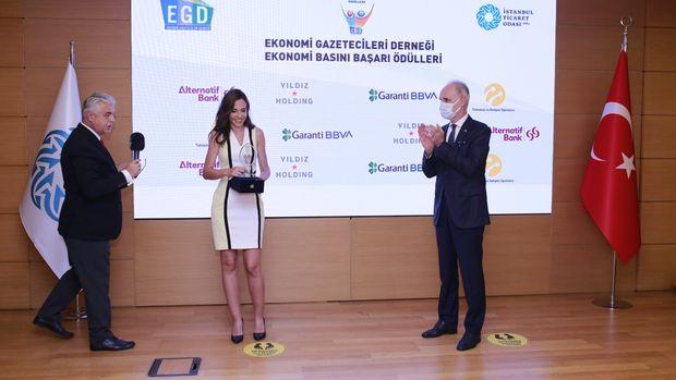 EGD'den Bloomberg HT'ye ödül