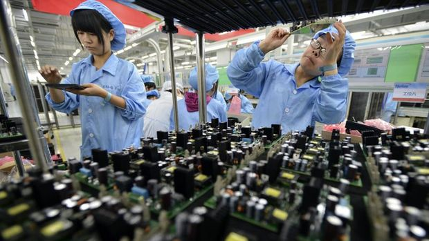 Çin'de sanayi şirketlerinin kârları üst üste 4'üncü ayda da arttı