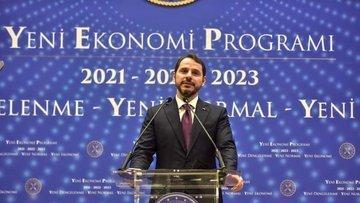 """Bakan Albayrak """"Yeni Ekonomi Programı""""nı açıkladı"""