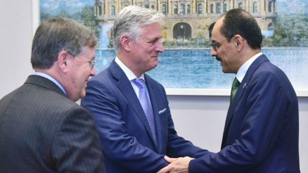 Cumhurbaşkanlığı Sözcüsü Kalın, ABD Ulusal Güvenlik Danışmanı OBrien ile görüştü