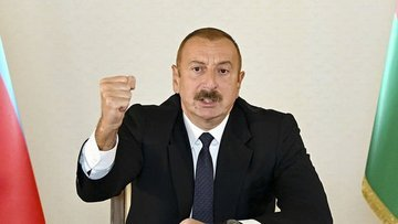 Aliyev: Azerbaycan'ın tek koşulu Ermenistan ordusunun ger...