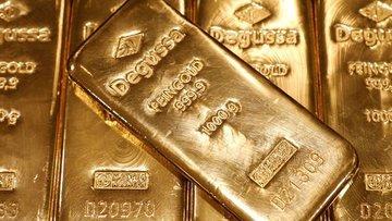 """Altın """"teşvik"""" görüşmeleri ve zayıf dolar ile yükseldi"""