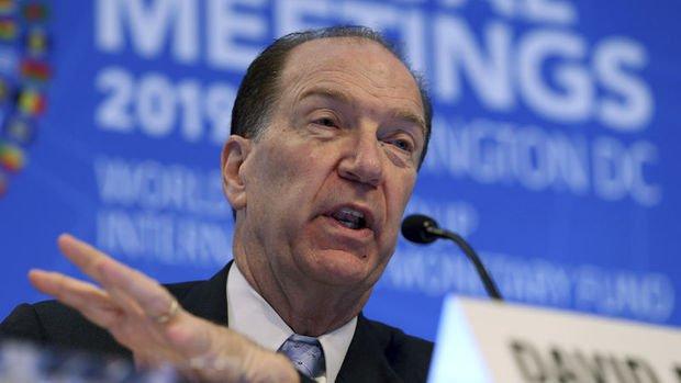 Dünya Bankası Başkanı Malpass: Borç ödemeleri azaltılmıyor, sadece erteleniyor