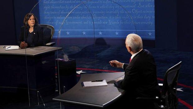 ABD'de başkan yardımcısı adayları Pence ve Harris canlı yayında karşı karşıya geldi