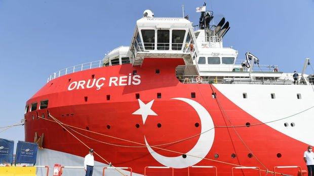 Oruç Reis gemisi Doğu Akdenizde 22 Ekim'e kadar çalışacak