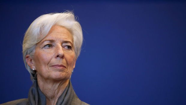 Lagarde: Virüs vakalarındaki artış ekonomi için açık bir risk