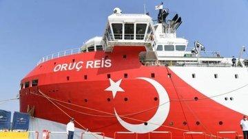 Oruç Reis'in Doğu Akdeniz'deki çalışma süresi 27 Ekim'e k...
