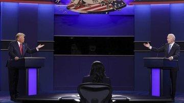 ABD'de başkan adayları ikinci kez canlı yayında karşı kar...