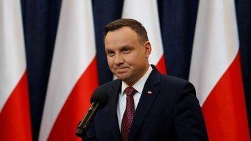 Polonya Cumhurbaşkanı Duda'nın Kovid-19 test sonucu pozit...
