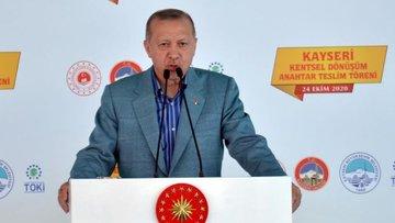 Erdoğan: Ülkemizi afetlere dayanıksız yapıların tamamında...