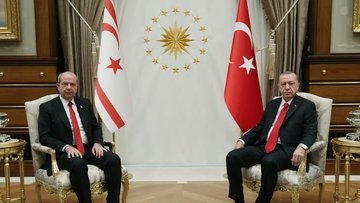 Erdoğan: Türk tarafı Kıbrıs'ta adil bir çözümden yana