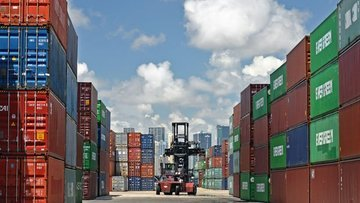 ABD'de dış ticareti açığı Eylül'de azaldı