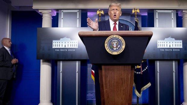 Trump'tan 4 kritik eyalette 'mücadeleye devam' sinyali