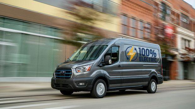 Ford, tam elektrikli ilk ticari aracı E-Transit'i Türkiye'de üretiyor
