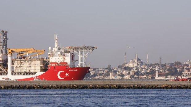 3. sondaj gemisi Kanuni yola çıktı