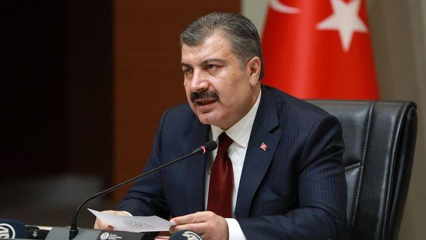 Türkiye'de son 24 saatte 3116 kişiye Kovid-19 hastalık tanısı konuldu