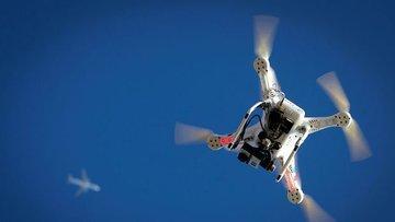 Drone'lar artık Wall Street'te uçuyor